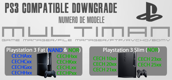 flash modification downgrade jailbreak cfw rogero habib ps3 playstation 3 paris