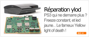 reparation ylod glod freezes bga sony ps3 playstation 3 paris